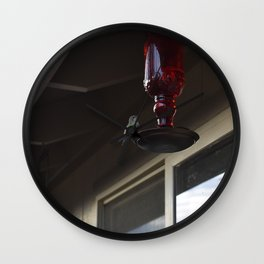 Sitting Hummingbird Wall Clock
