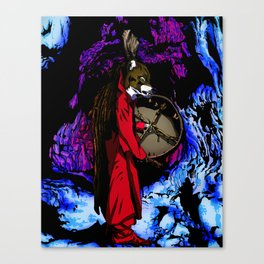 WOLF CAVE Canvas Print