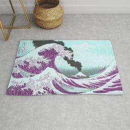 Great Wave Eruption   Rug