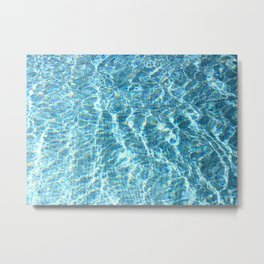 Swimmingpool #2 Metal Print
