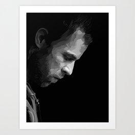 JR Bourne Art Print