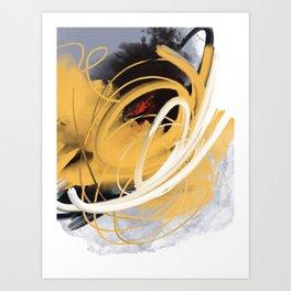 Fuego interno Art Print