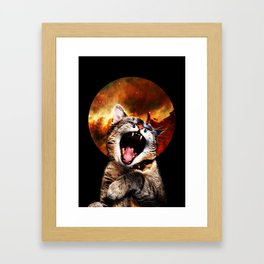 CATarsis Framed Art Print