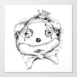Clowns in Crowns #12 Canvas Print