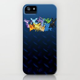 """The Dream Team"" - X & Y Eeveelutions iPhone Case"