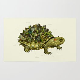 Turtle Town Rug