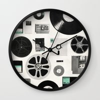 data Wall Clocks featuring Data by Florent Bodart / Speakerine