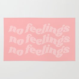no feelings Rug