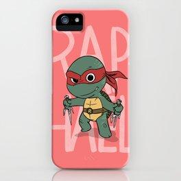 TMNT: Raphael (Cute & Dangerous) iPhone Case