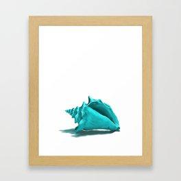 Aura the Seashell - illustration Framed Art Print