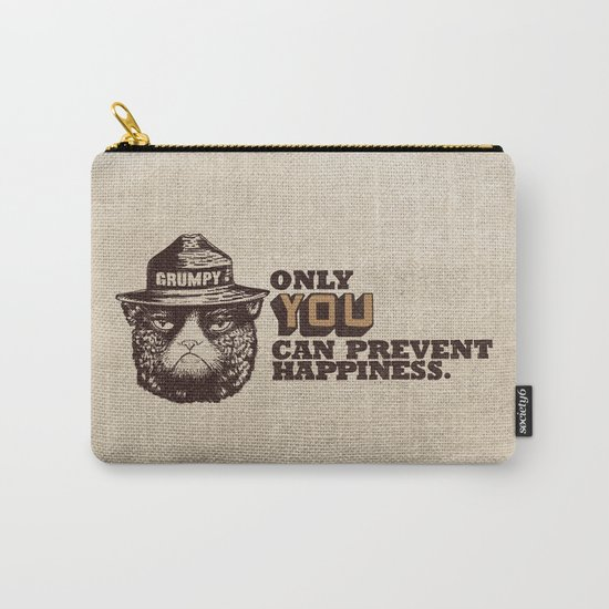Grumpy PSA Carry-All Pouch
