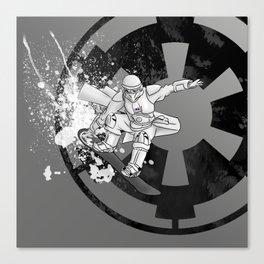 Snow Board Trooper Canvas Print