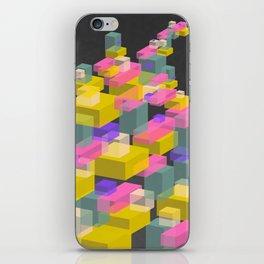 Cubes #2 iPhone Skin