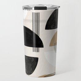 Paper Collage Art Travel Mug