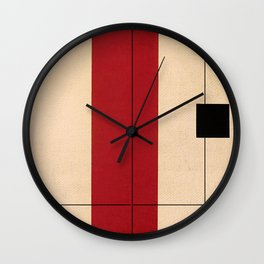 Simple Connections 2 Wall Clock