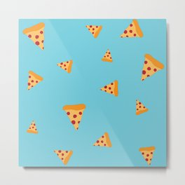 Pizza Party Metal Print