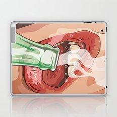 Lips and soda Laptop & iPad Skin