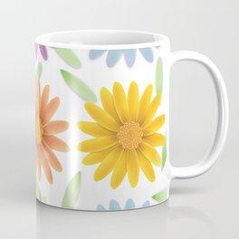 Colorist 3d daisy flower Coffee Mug