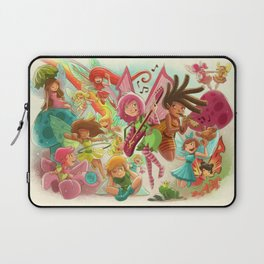 Goblins Drool, Fairies Rule! - Team Fairy Laptop Sleeve
