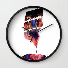 Divided Wall Clock