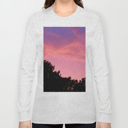 Pink Sky Long Sleeve T-shirt