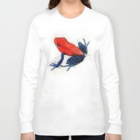 frog Long Sleeve T-shirts featuring Frog by Jacob Haynes