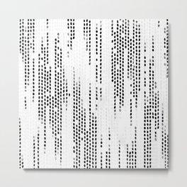 Weave Metal Print
