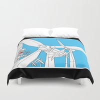 wind Duvet Covers featuring Wind  by Jonas Ericson