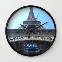 Eiffel tower in Paris Wall Clock
