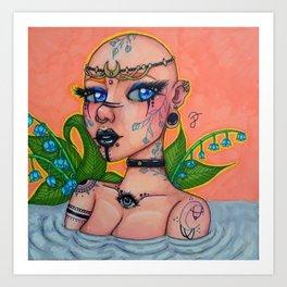 River Oracle Art Print