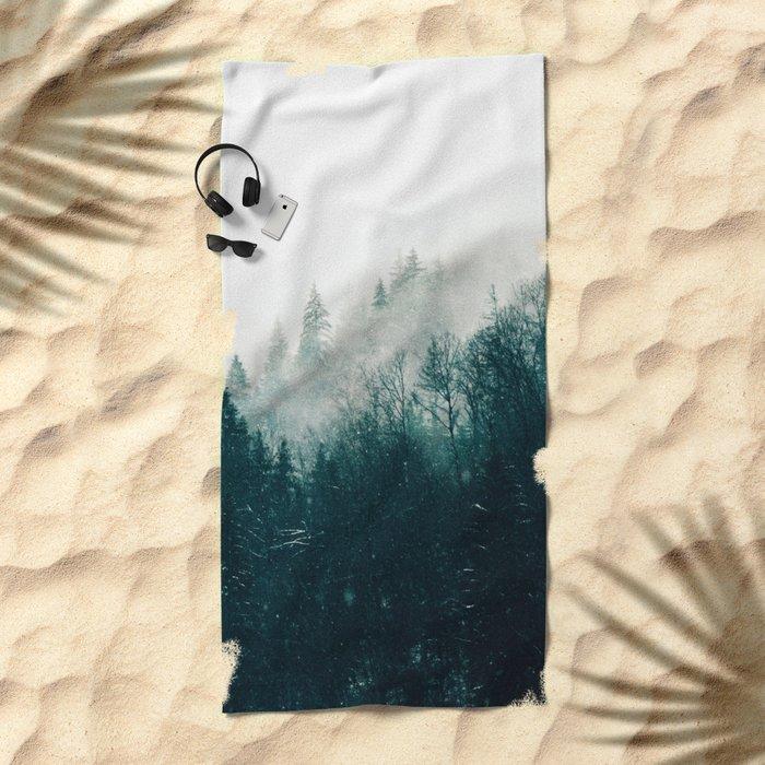 The Silent Forest #society6 #decor #buyart Beach Towel