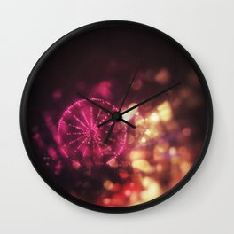 City Rain I Wall Clock