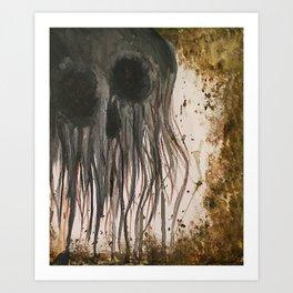 Deathhead Art Print