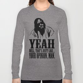 The Dude Abides The Big Lebowski Long Sleeve T-shirt