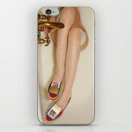 The queen is thirsty. Really, really thirsty iPhone Skin