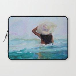 Private Beach Laptop Sleeve