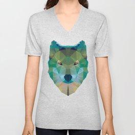 Wolf Crystalize 01-A Unisex V-Neck