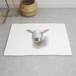 Watercolor Sheep Rug