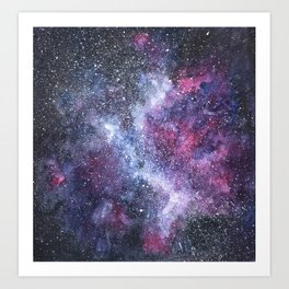 Constelations Art Print
