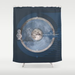 O Moon! the oldest shades #everyweek 45.2016 Shower Curtain