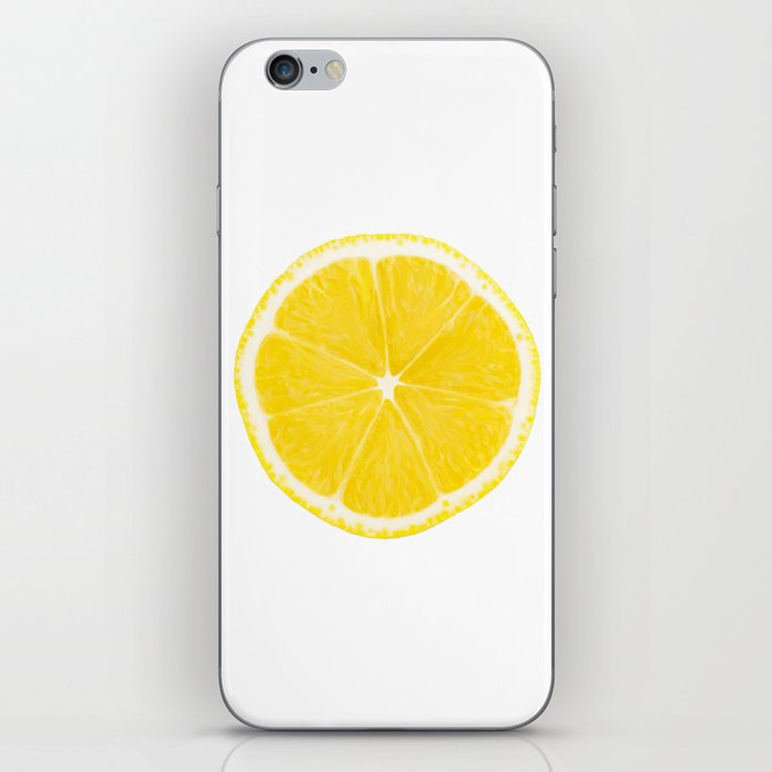 LOVE LEMON iPhone Skin