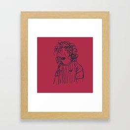 Carles Framed Art Print