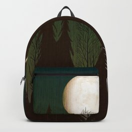 Into The Cold Winter Woods Backpack
