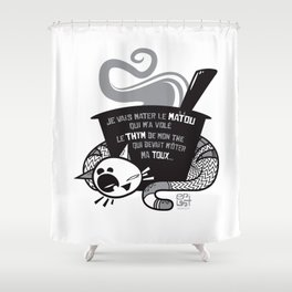 Matou Shower Curtain