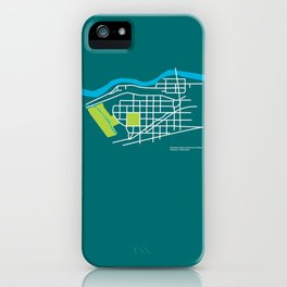 Brownes Addition / Peaceful Valley, Spokane iPhone Case