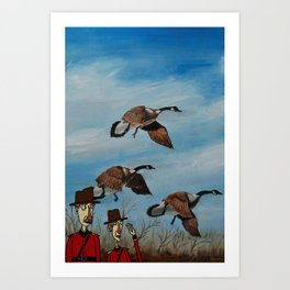 Changing of the Guards Art Print