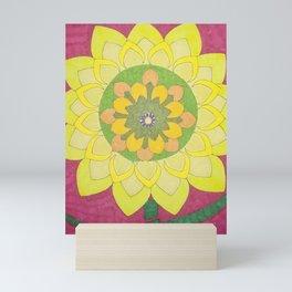 Flower of My Sun Mini Art Print