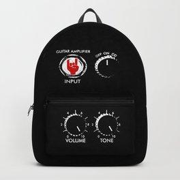 Amplify Metal-Louder-Devil Horns Sign-Music Backpack