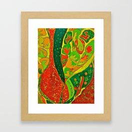 Greens Framed Art Print