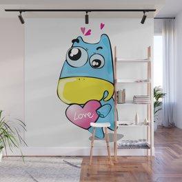 Goody in love Wall Mural